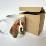 basset-hound -taza-perro-ilustración-arte-mascota-doglover-dog-dibujo-raza