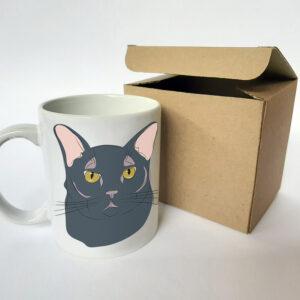 taza gato negro 2