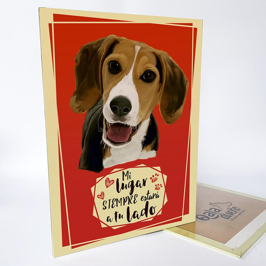 Letrero decorativo Beagle
