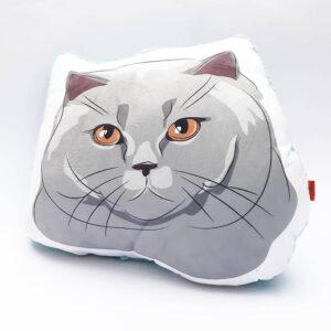 Almohada Decorativa gato gris
