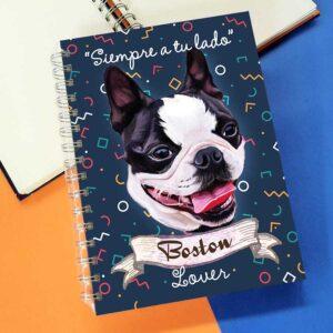 Cuaderno A5 Boston Terrier
