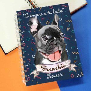 Cuaderno A5 Bulldog Frances