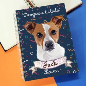 Cuaderno A5 Jack Russell