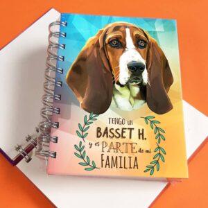 Libreta A6 Basset Hound