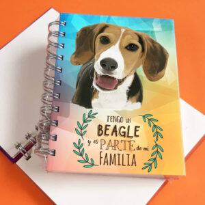 Libreta A6 Beagle