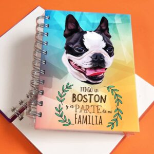 Libreta A6 Boston Terrier
