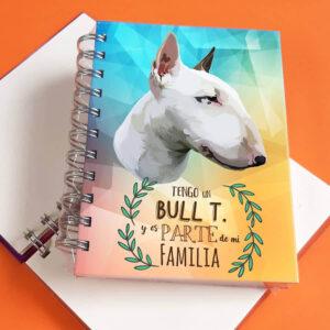 Libreta A6 Bull Terrier