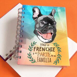 Libreta A6 Bulldog Frances