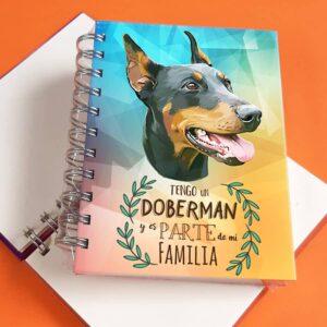 Libreta A6 Doberman