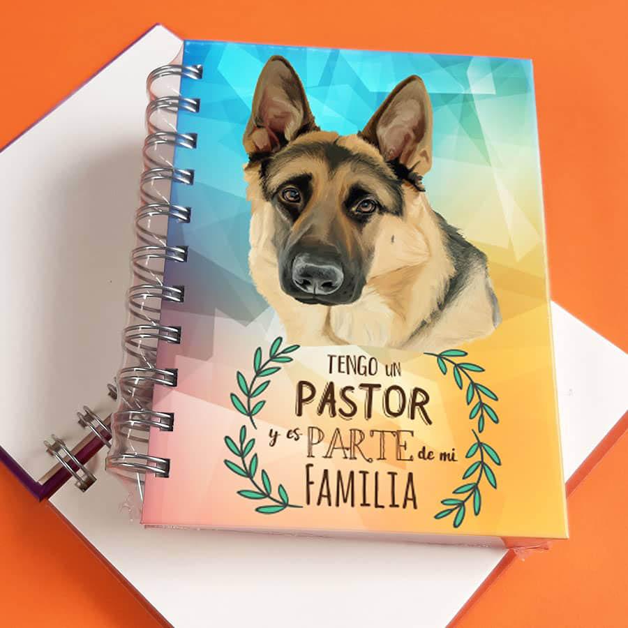 Libreta A6 Pastor Aleman