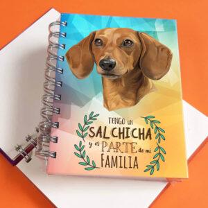 Libreta A6 Salchicha