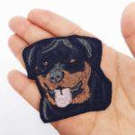 Parche bordado Rottweiler