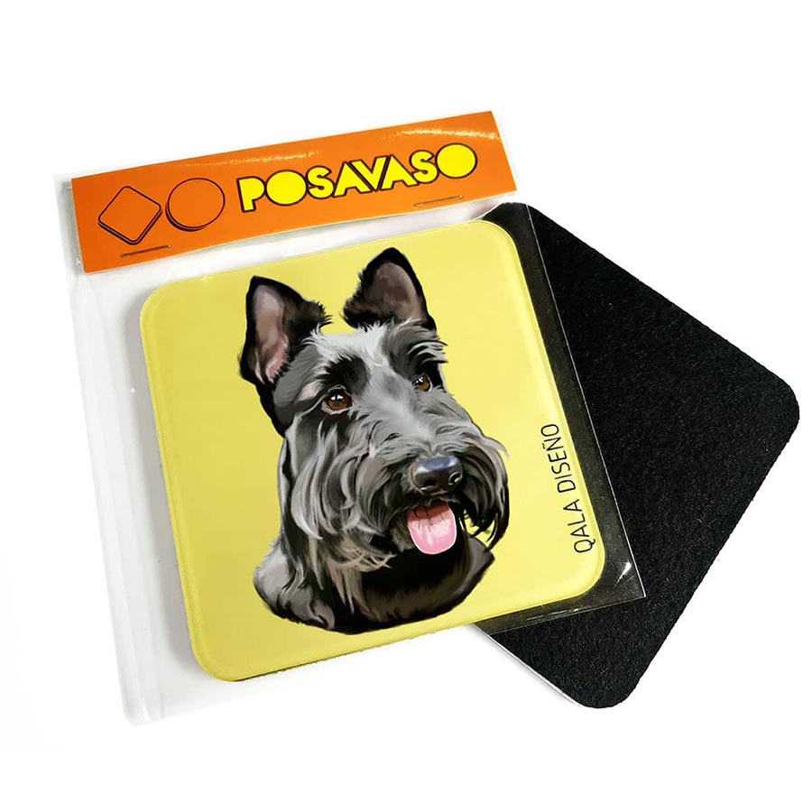 Posavaso acrilico scottish terrier