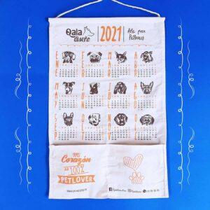Calendario doglover 2021 de tocuyo