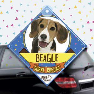 Colgante de auto de perro raza Beagle