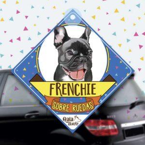 Colgante de auto de perro raza Bulldog Frances