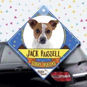 Colgante de auto de perro raza Jack Russell