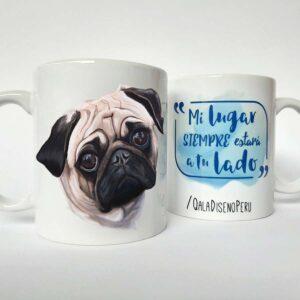 taza Pug Carlino