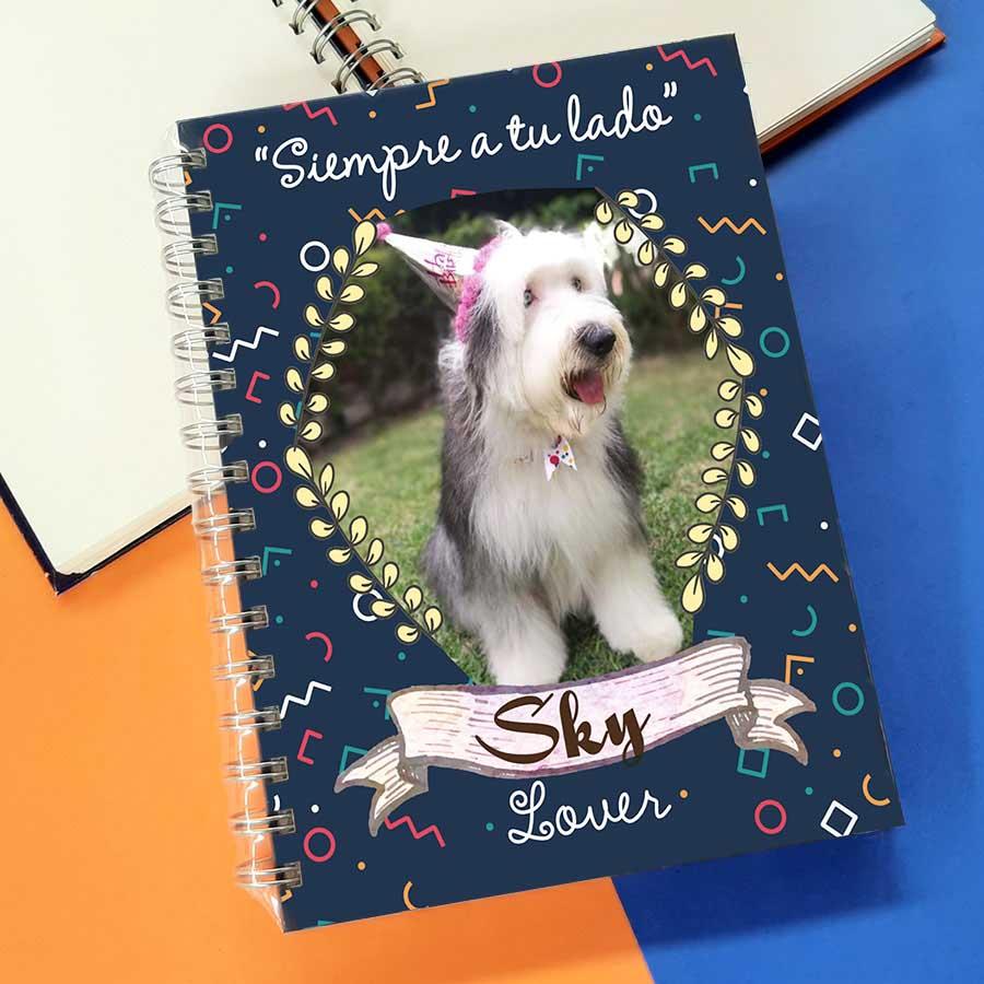 Libreta A6 cuaderno A5 personalizado con foto