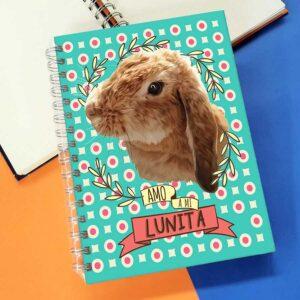 Libreta A6 cuaderno A5 personalizado con ilustración