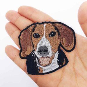 Parche Bordado beagle