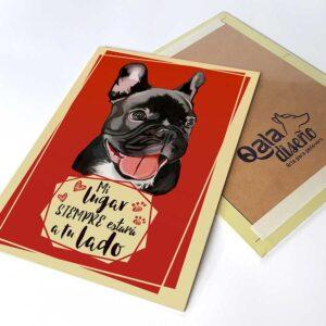 Letrero decorativo Bulldog Francés