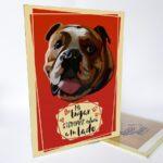 Letrero decorativo bulldog inglés
