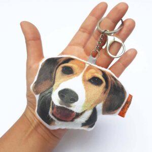 Llavero hecho a mano Beagle