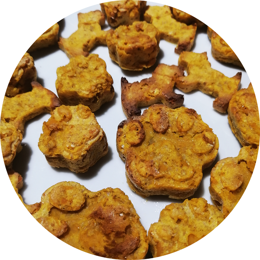 galletas de camote para perros